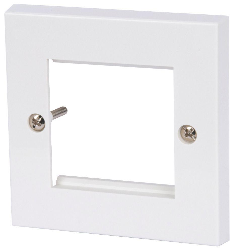 Philex 2G Modular Faceplate White