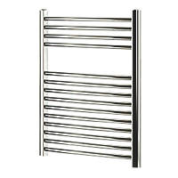 Blyss  Curved Towel Radiator Chrome 700 x 600mm