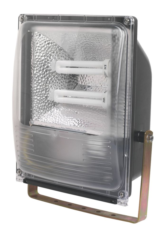 Trac Bulldog CFL 52W Floodlight & Photocell