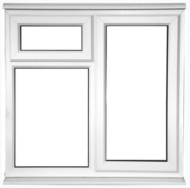 STF AS uPVC Window Clear 1200 x 1200mm