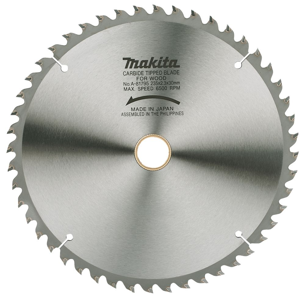 Makita TCT Circular Saw Blade 48T 235x30mm