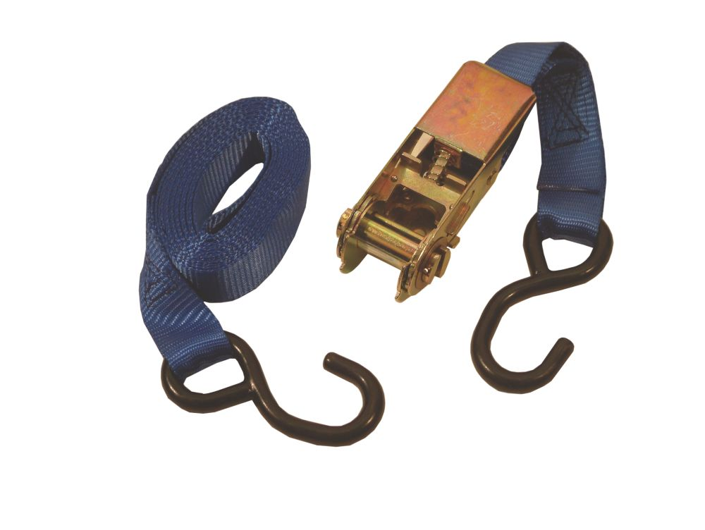Thorsen Ratchet Strap 3m x 25mm 2 Pieces