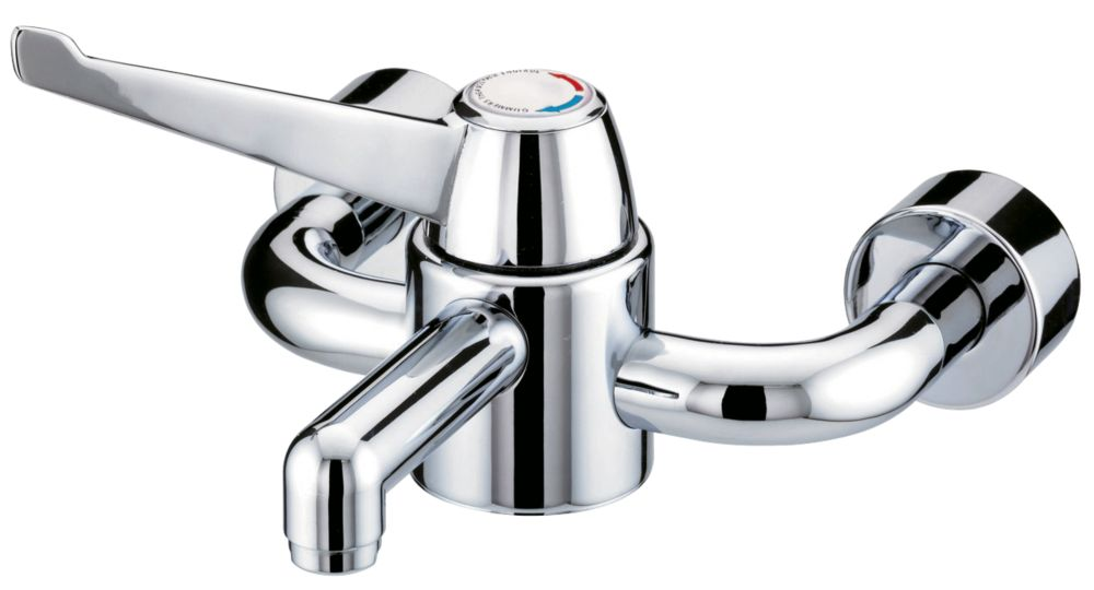 Single Control Wall-Mounted Basin Mixer Tap
