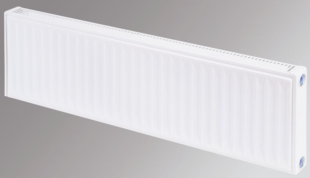 Flomasta Type 11 Single Panel Single Convector Radiator White 300 x 1000mm