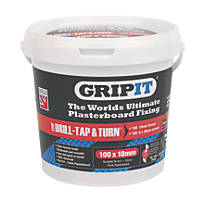 GripIt Red Plasterboard Fixings 18 x 20mm 100 Pack