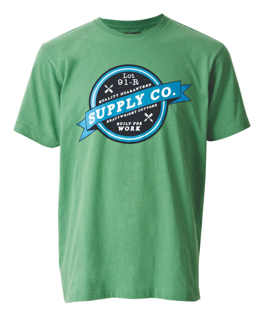 "Site Chile T-Shirt Green Medium 39-42"" Chest"