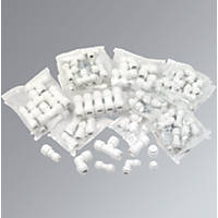 FloPlast Flo-Fit Fittings 100 Piece Set