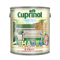 Cuprinol Garden Shades Wood Paint Natural Stone 2.5Ltr
