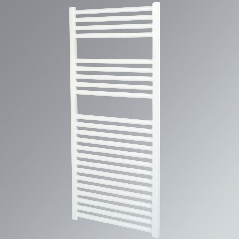 Kudox Flat Towel Radiator White 500 x 1100mm 515W 1757Btu