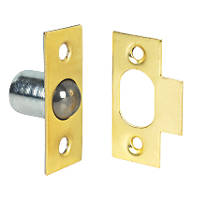 Bales Cabinet Catches Brass-Plated  10 Pack