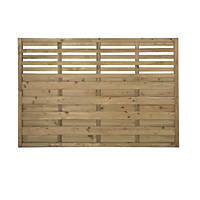Forest Kyoto Fence Panels 1.8 x 1.2m 4 Pack