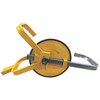 "Streetwize Full-Face Wheel Clamp 13""-15"" Yellow"