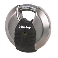 Master Lock Excell Disc Padlock Max. Shackle W x H: 31 x 30mm