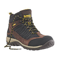 DeWalt Slide Safety Trainer Boots Brown / Black Size 7