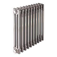 Acova  3-Column Horizontal Designer Column Radiator Raw Metal 600 x 628mm