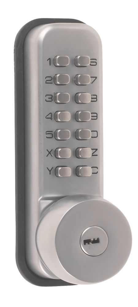 Securefast Push Button Lock with Key Override