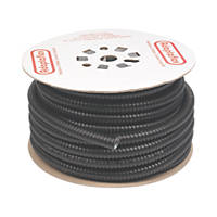 Adaptaflex Liquid Resistant Covered Steel Conduit 20mm x 25m Black