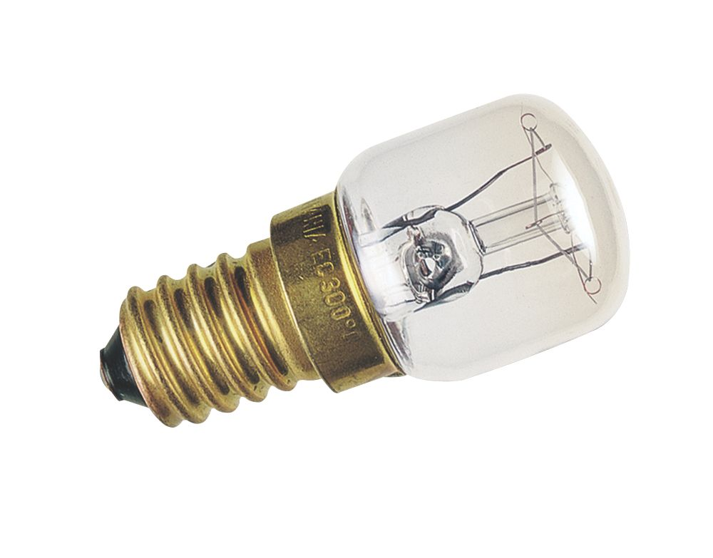 Sylvania Incandescent Pygmy Oven Lamp SES 80Lm 15W