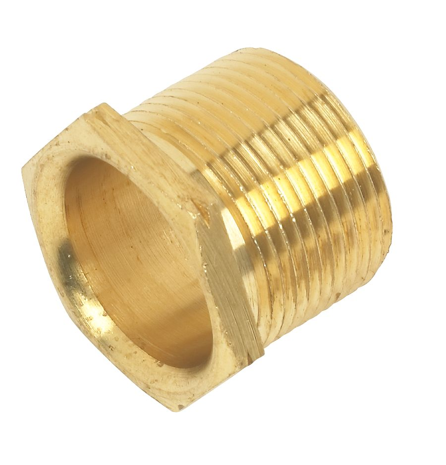 Male Brass Bush Long 25mm Pack of 10