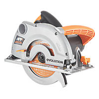 Evolution RAGE1B1852 1200W 185mm  Multipurpose Circular Saw 230V