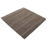 COBA Europe  Entrance Mat Tiles Brown 305mm x 305mm 10 Pack