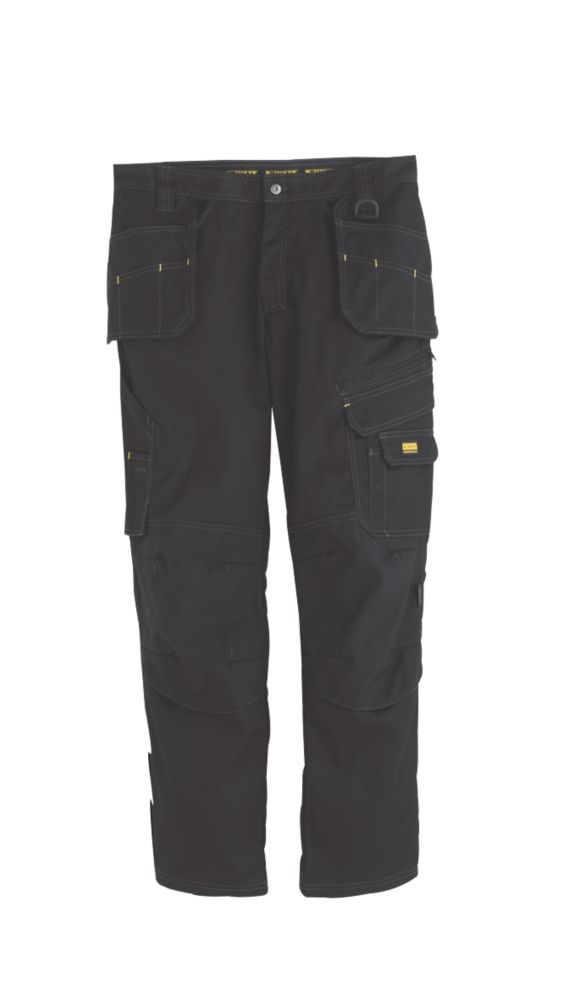 DeWalt Low Rise Trousers Black 32W 31L