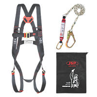 JSP Spartan Single Tail Fall Arrest Kit with 2m Lanyard