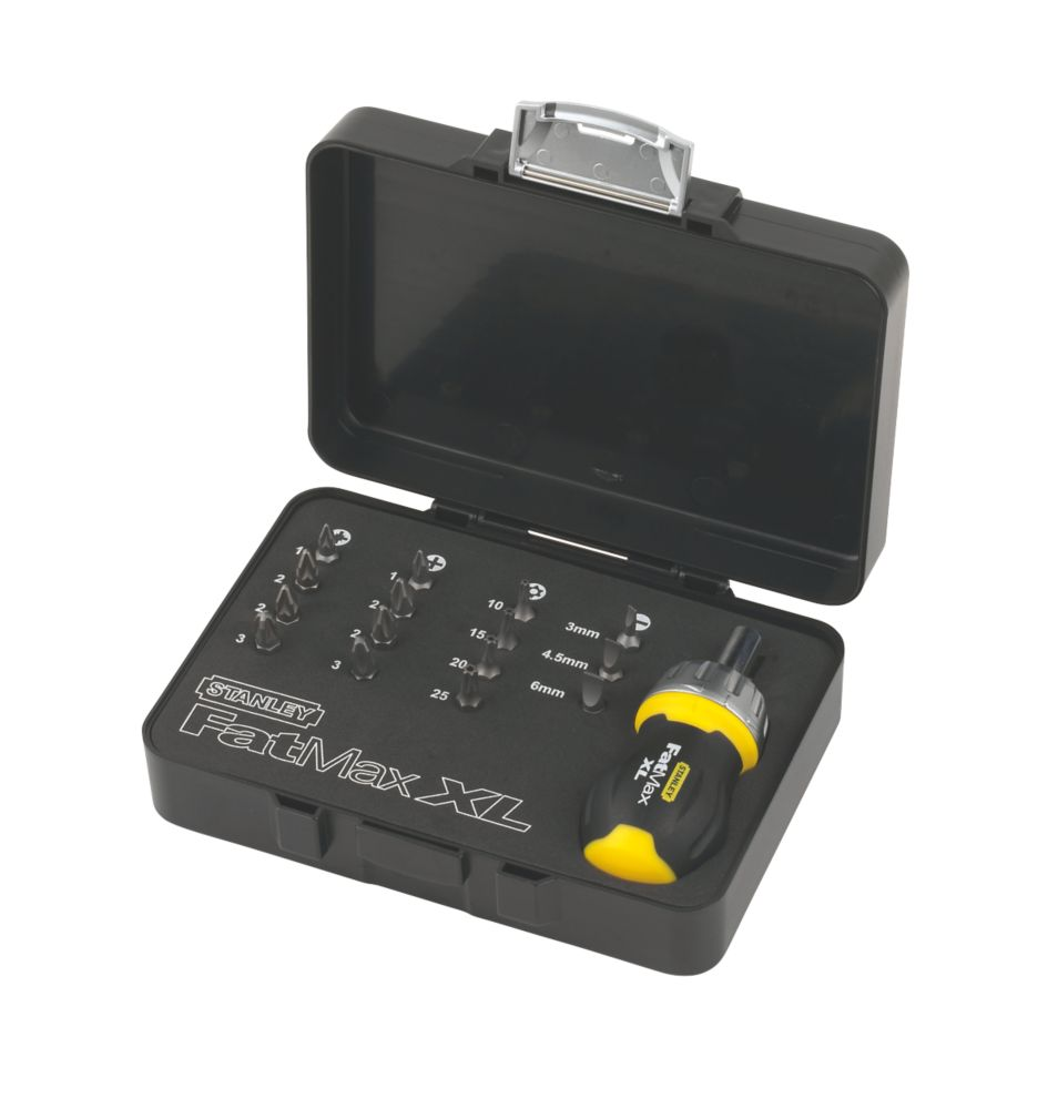 FatMax Xtreme Ratchet Stubby Screwdriver Set