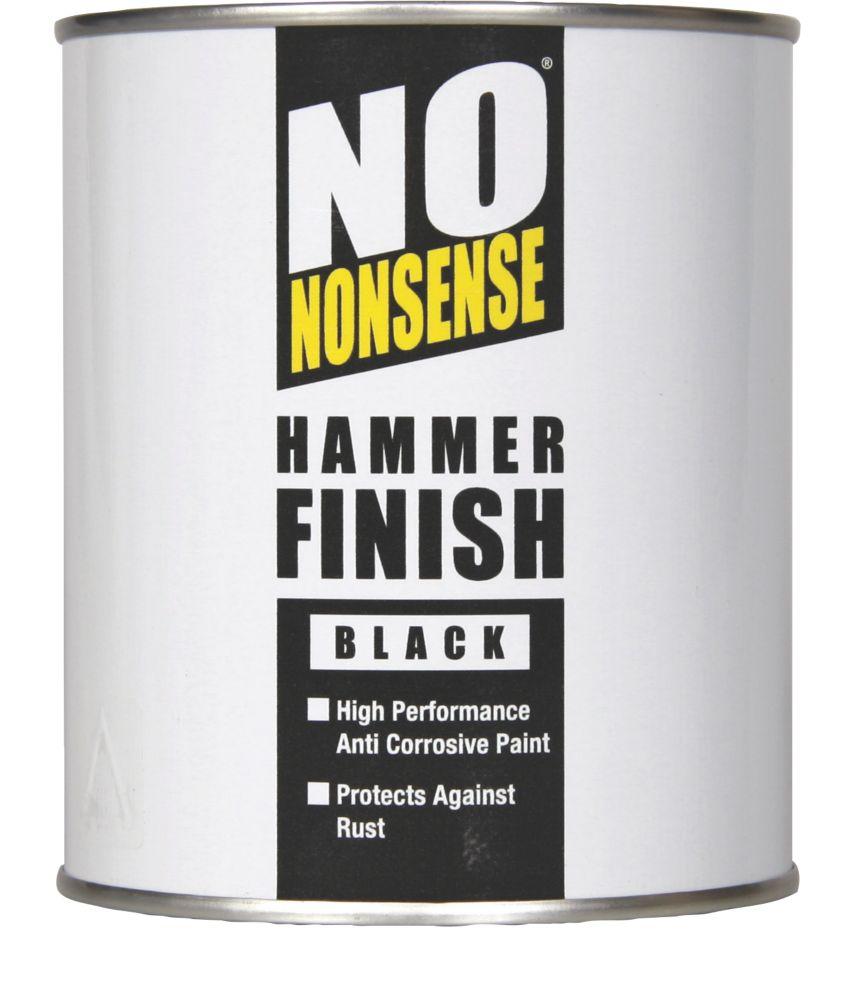 No Nonsense Hammer Finish Paint Hammered Black 750ml