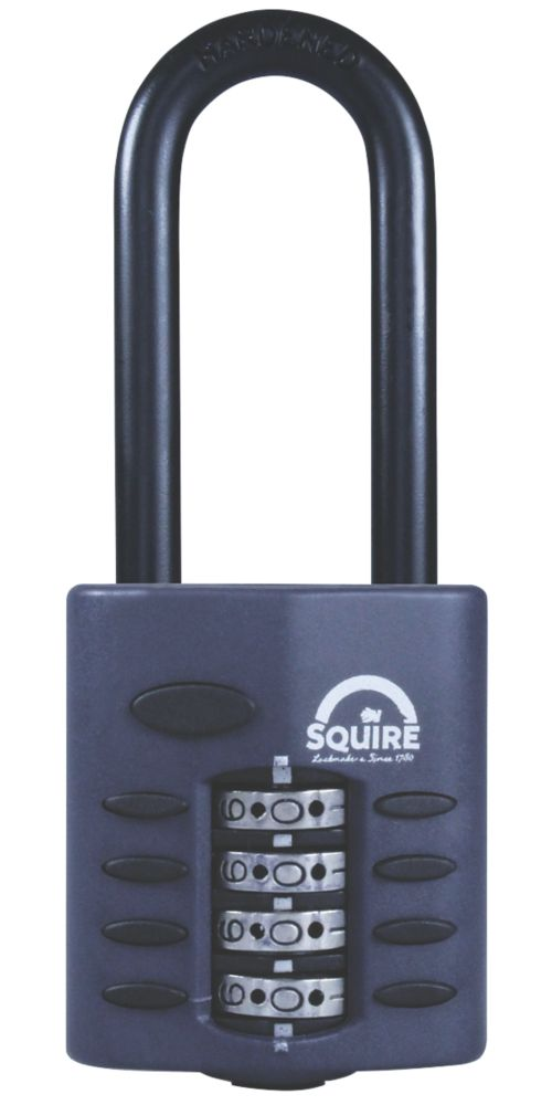 Squire All-Weather Combi Padlock Long Shackle 40mm
