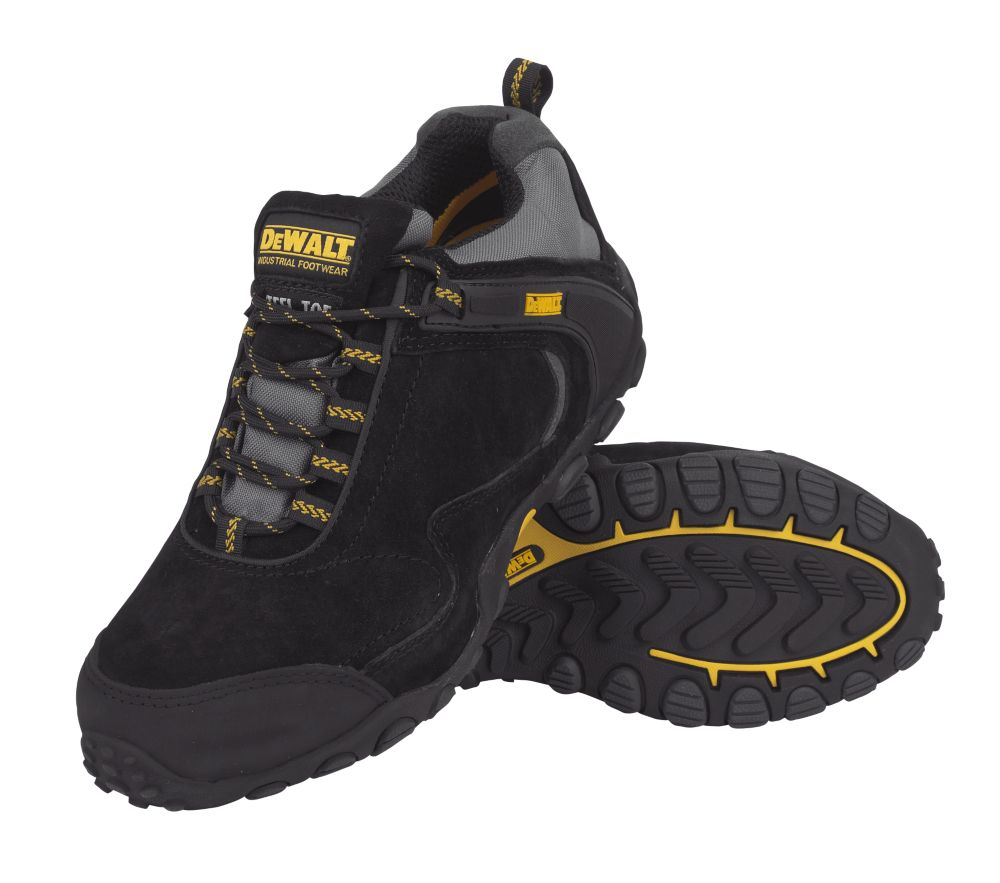 DeWalt Logic Safety Trainers Black Size 8