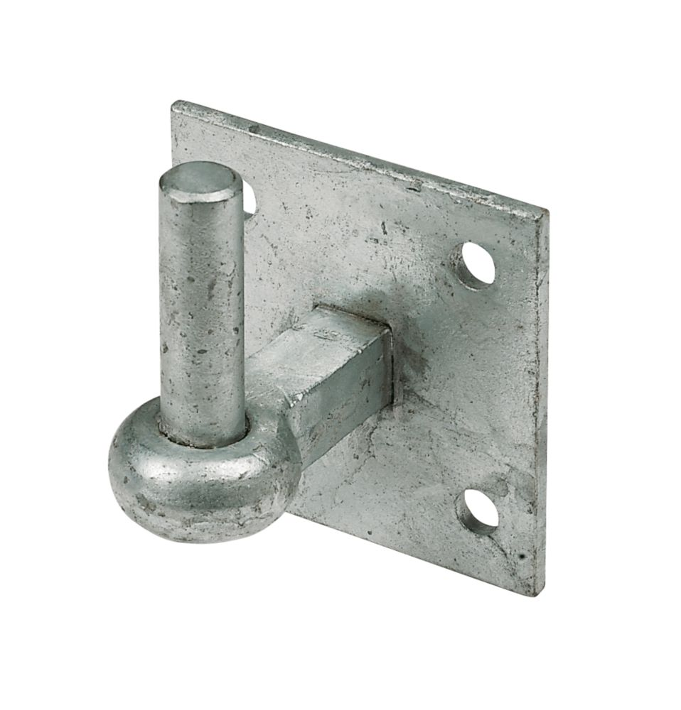 Hook On Plate Spelter Galvanised 100 x 100 x 19mm