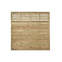 Forest Kyoto Fence Panels 1.8 x 1.8m 5 Pack