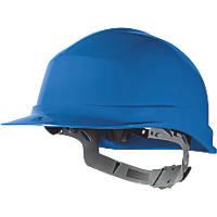 Delta Plus Zircon 1 Essential Slip Ratchet Safety Helmet Blue