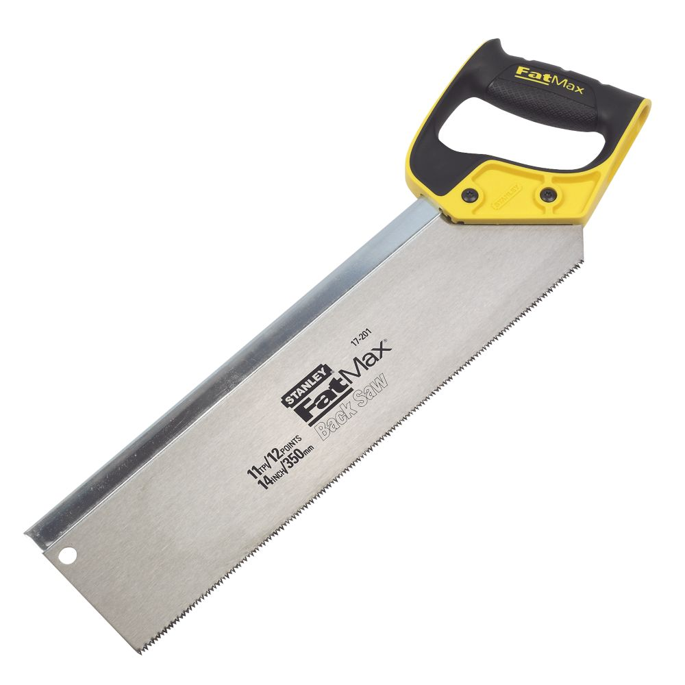 Stanley FatMax Back Saw Jetcut 11Tpi 14""