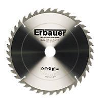 Erbauer TCT Circular Saw Blade 40T 250x30mm