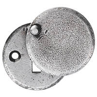 Carlisle Brass Hand-Forged Covered Escutcheon Pewter 40mm
