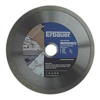 Erbauer Diamond Tile Blade 180mm x 22.2mm Bore