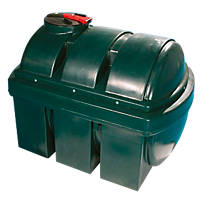 Polytank Poly Oil Tank Green 2500Ltr