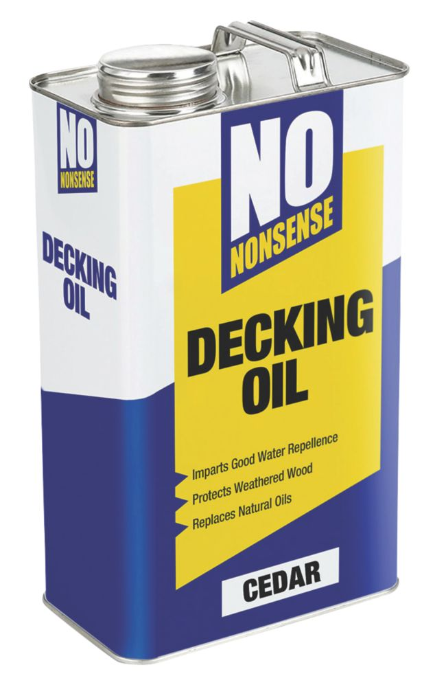 No Nonsense Timber Decking Oil Cedar 5Ltr