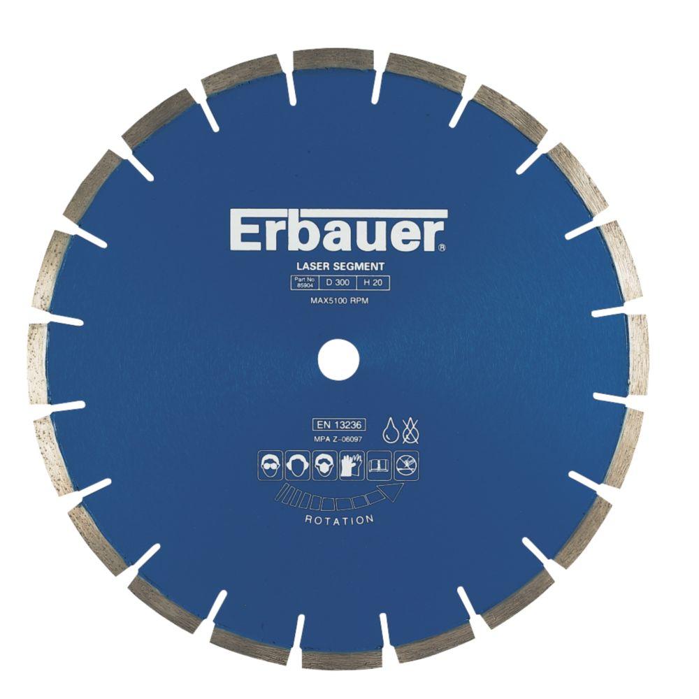 Erbauer Diamond Blade Medium/Hard 300x20mm