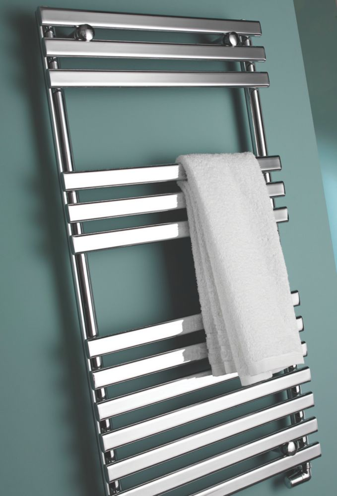 Kudox Calandra Designer Towel Radiator Chrome 500 x 950mm 291W 992Btu