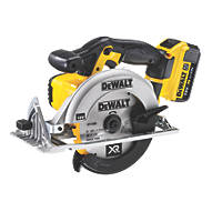 DeWalt DCS391M2-GB 165mm 4.0Ah Li-Ion Cordless Circular Saw 18V