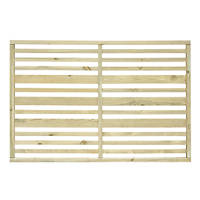 Grange Timber Urban Garden Screen Panel Natural 1.2 x 1.8m 4 Pack
