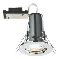 LAP Fire Rated Fixed LED Downlight IP20 Chrome 2.5W