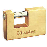 Master Lock Rectangular Padlock 85mm