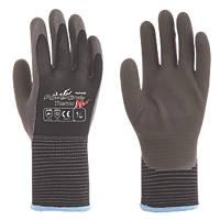 Towa PowerGrab Thermal Grip Gloves Brown / Black Medium