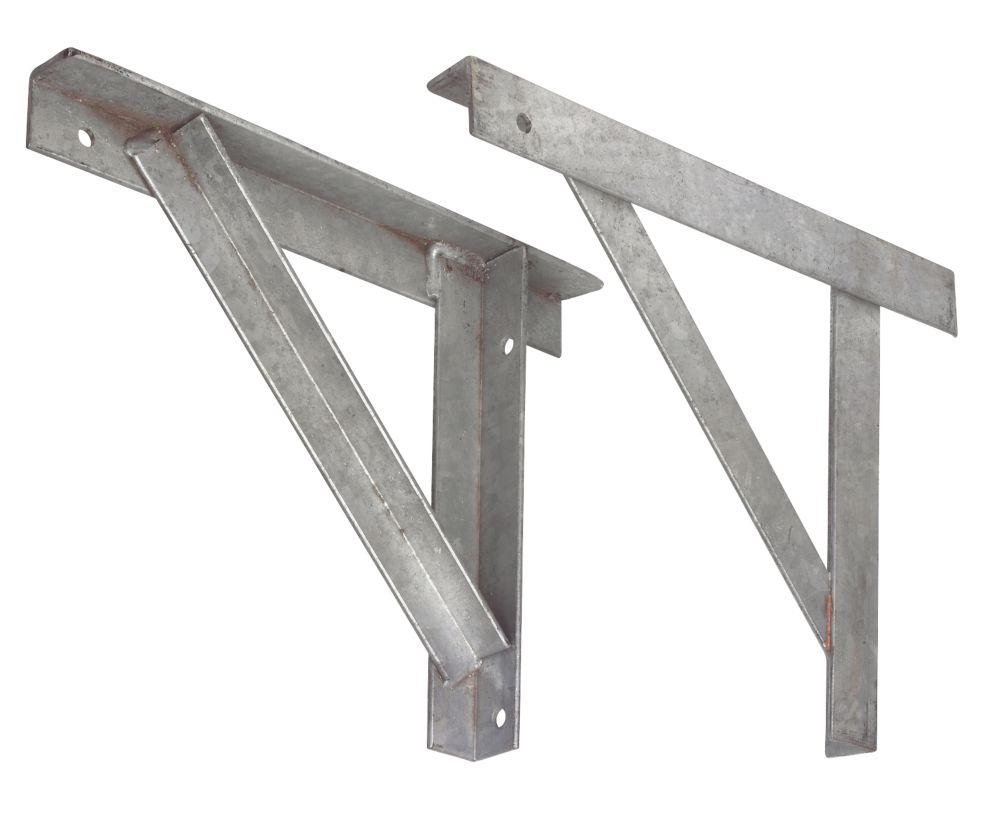 Sabrefix Gallows Brackets 50 x 375 x 490mm Pack of 2