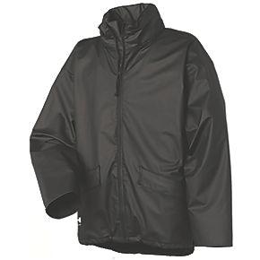 helly hansen voss jacket waterproof black medium w l jackets. Black Bedroom Furniture Sets. Home Design Ideas