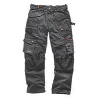 "Scruffs 3D Pro Trousers Graphite 38"" W 32"" L"